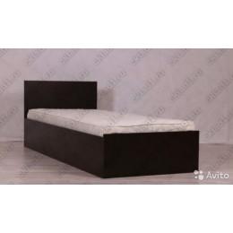 Кровать Стандарт венге  0.9 м