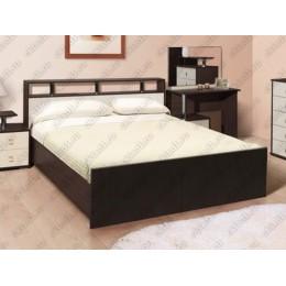 Кровать Саломея 1,6 м венге