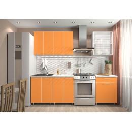 Кухня Радуга-оранж 1,8 м