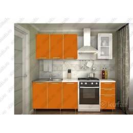 Кухня Радуга оранж 1,5 м