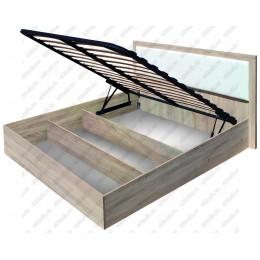 """Кровать 1,4 м  """"Селена"""" с подъемным механизмом"""